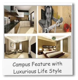 Campus Feature with Luxurious Life Style